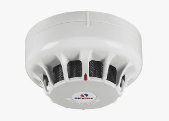 Detector de fumaça óptico