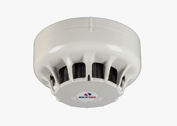 Detector de temperatura e fumaça