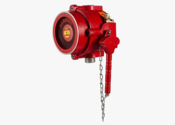 Projeto de sistema de alarme de incêndio