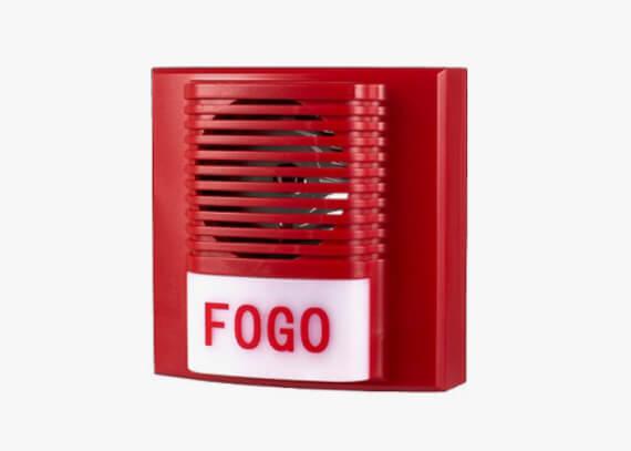 Sensor de alarme de incêndio
