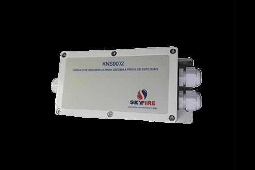 JTY-GD-5Ei (EX) - Detector de Calor Endereçável à Prova de Explosão e Módulo KNS-9002