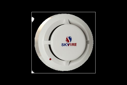 JTY-GD-5Ei (EX) - Detector Óptico de Fumaça Endereçável à Prova de Explosão e Módulo KNS-9002