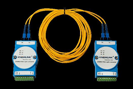 FBSKYFIRE-5Ei - Módulo Conversor de Rede CANBUS para Fibra Óptica