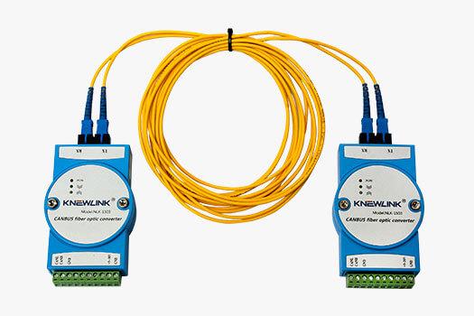 Módulo Conversor de Rede CANBUS para Fibra Óptica