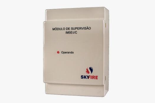 Módulo de Supervisão para Detector Linear de Fumaça e de Gás