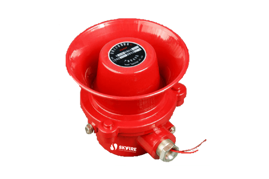 HJR-SIREN-EX - Sirene Audio Convencional à Prova de Explosão