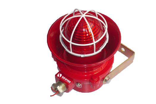 HJR-SIREN-AV-EX  - Sirene Audiovisual Convencional à Prova de Explosão